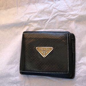 - Prada men's leather wallet
